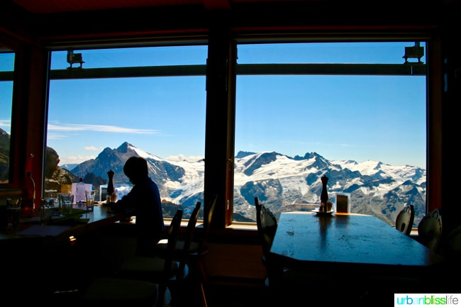 mount titlis restaurant