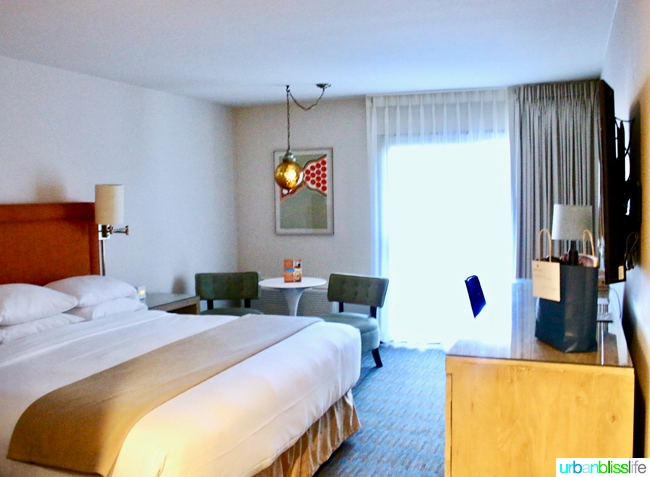 Ashland Hills Hotel and Suites suite, hotel review and travel tips on UrbanBlissLife.com