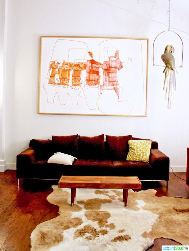 Ashland Hills Hotel and Suites western mod furniture