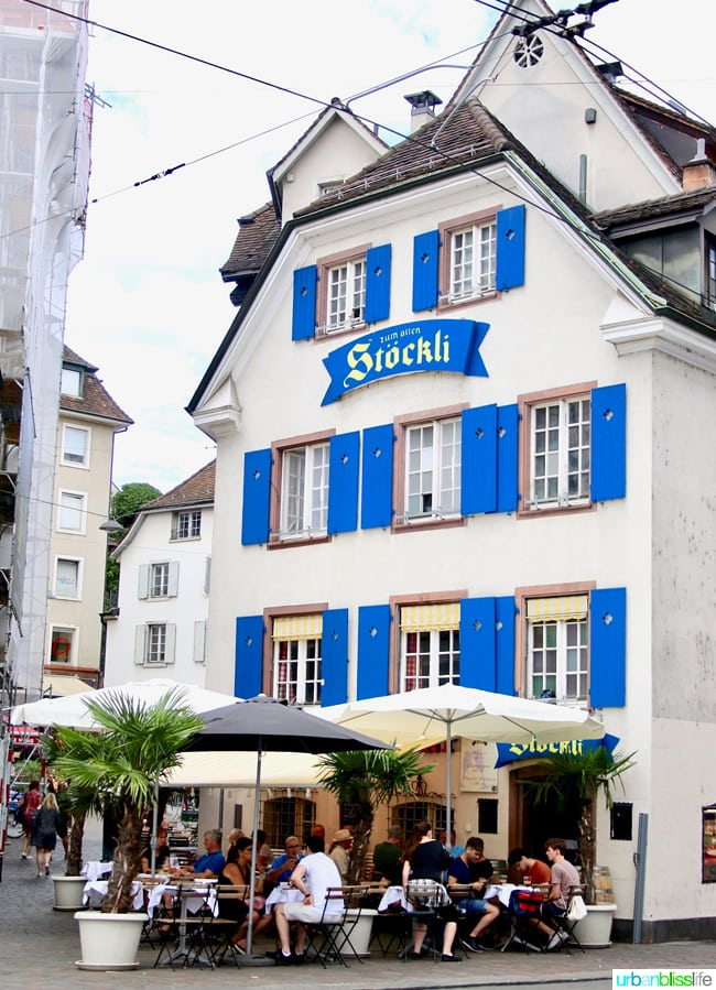 Day trip to Basel Switzerland - family travel tips on UrbanBlissLife.com