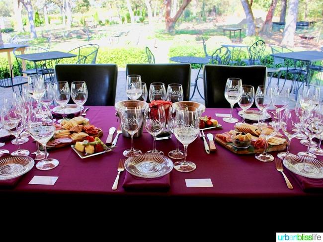 Applegate Valley wine tasting: Troon Vineyards tasting spread, on UrbanBlissLife.com