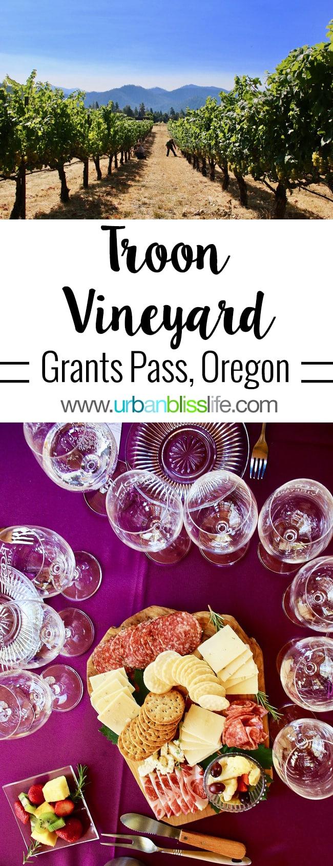 Applegate Valley wine tasting: Troon Vineyards on UrbanBlissLife.com