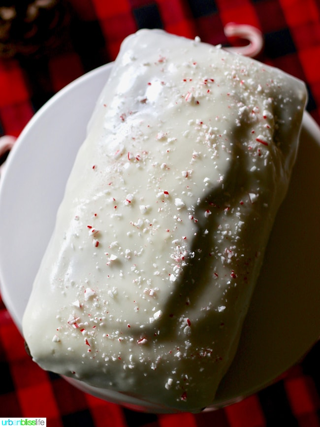 Peppermint Cream Cheese Frosting