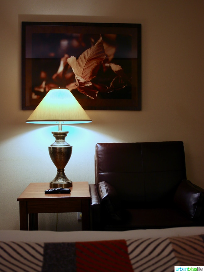 Skamania Lodge hotel room Washington. Travel stories & hotel reviews on UrbanBlissLife.com