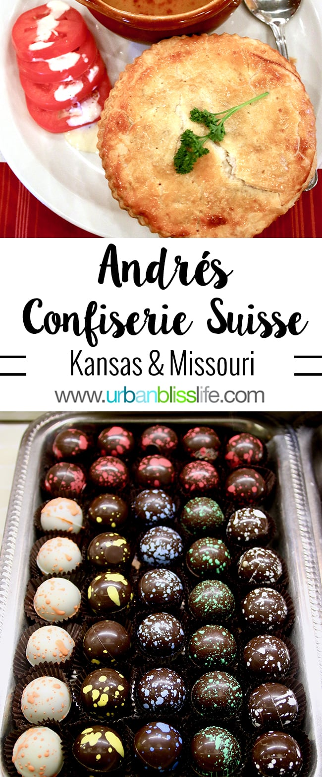 André's Confiserie Suisse in Kansas City. Restaurant review on UrbanBlissLife.com