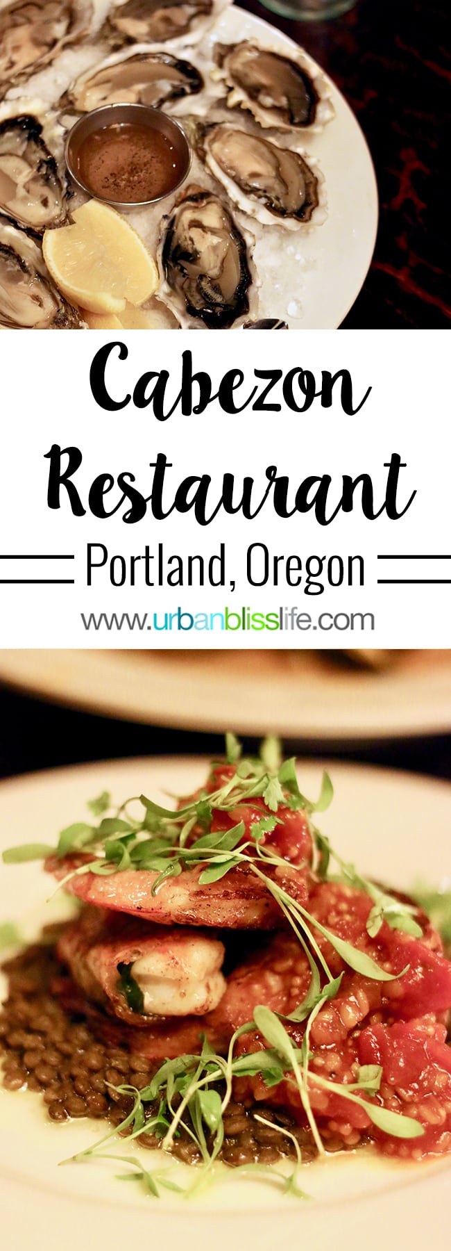 Cabezon Portland, Oregon. Full restaurant details on UrbanBlissLife.com