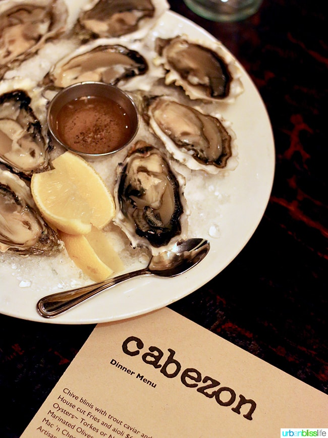 oysters at Cabezon Portland