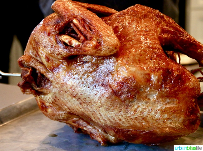 Fried Turkey for Thanksgiving in Kansas! On UrbanBlissLife.com