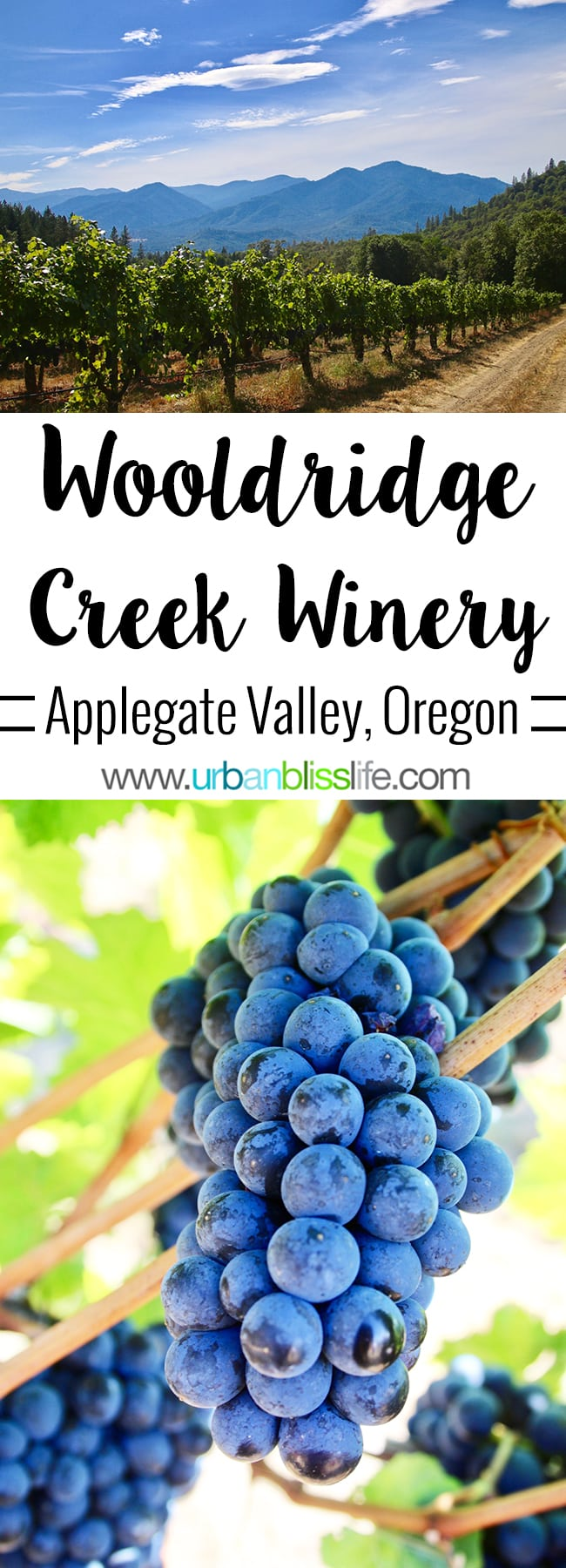 Wooldridge Creek Winery Grants Pass, Oregon Applegate Valley wine tasting and tour, on UrbanBlissLIfe.com