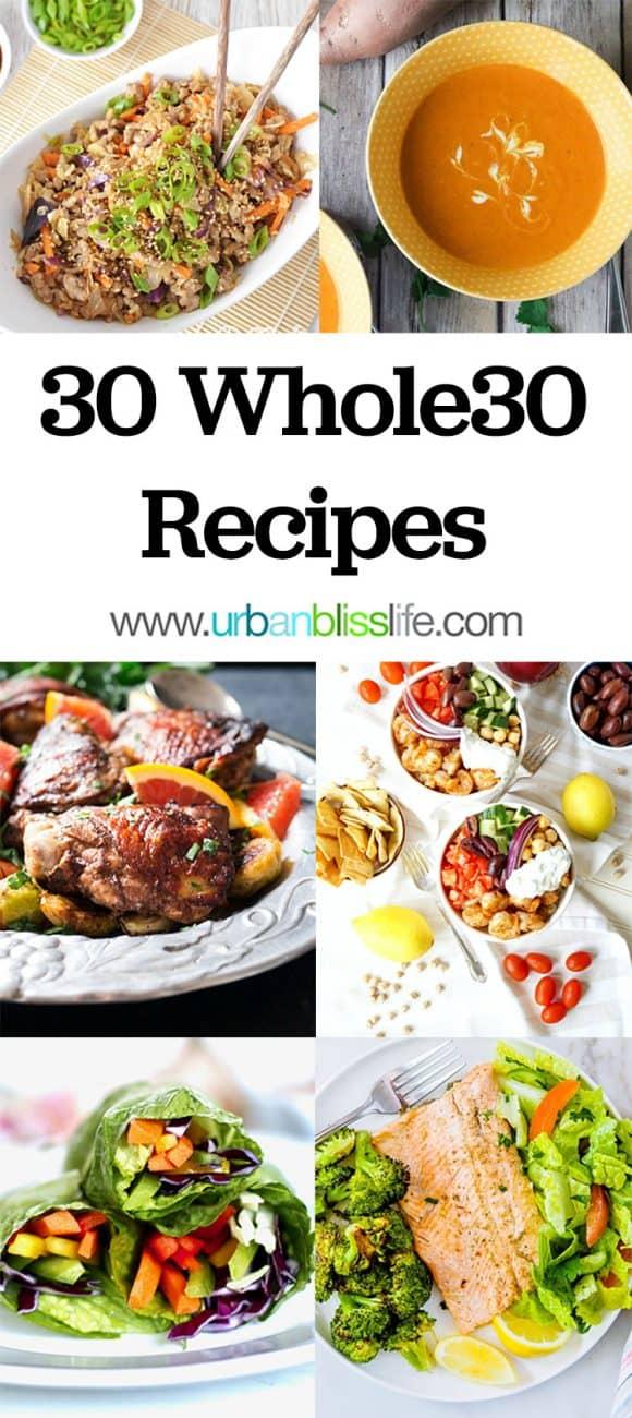 30 Whole30 Recipes
