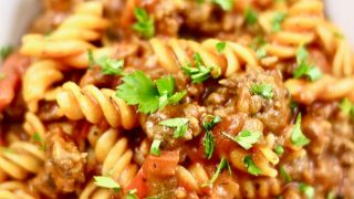 30-minute Instant Pot Sausage and Peppers Pasta