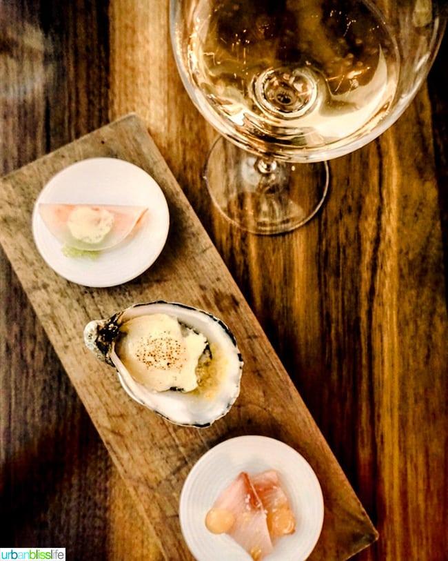 Roe restaurant - seafood and wine overhead