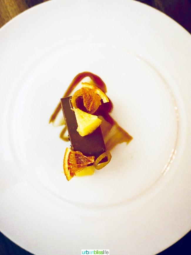 Roe restaurant dessert