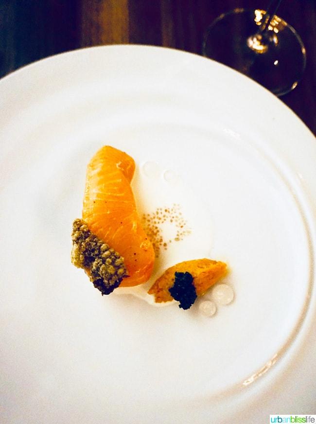 Roe restaurant salmon