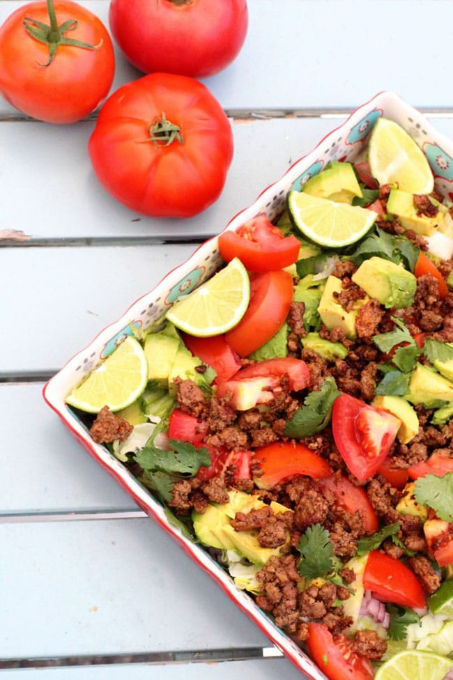 Whole30 Taco Salad recipe