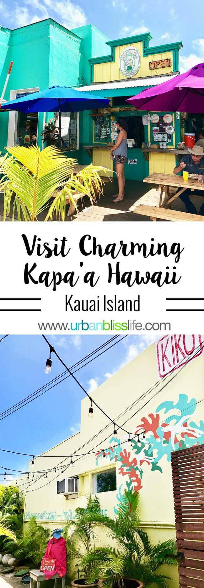 Kapaa Hawaii Kauai island travel tips on UrbanBlissLife.com