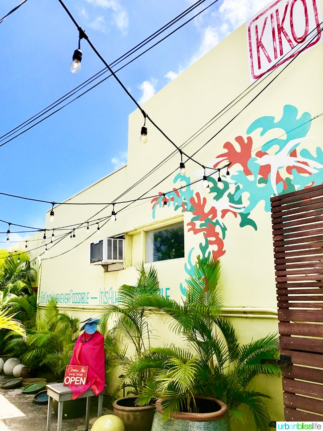 Kiko store in Kapaa Hawaii