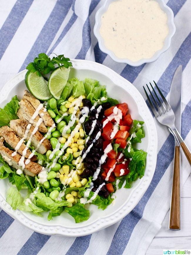 Southwest Bbq Chicken Salad Recipe