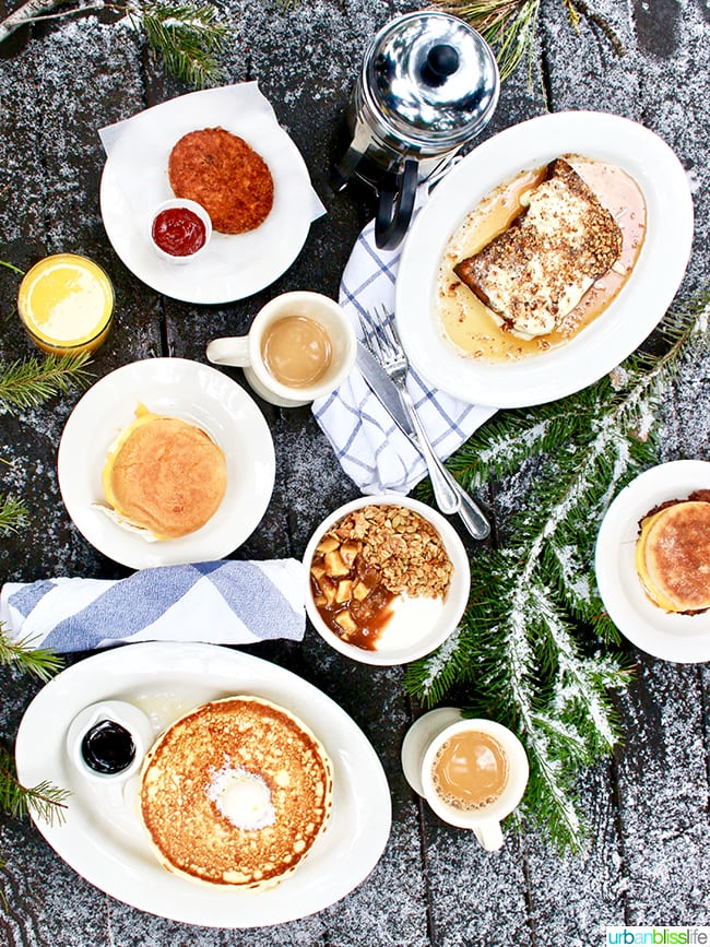 breakfast at The Suttle Lodge in Sisters Oregon