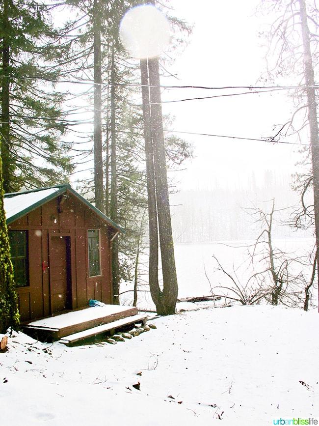 Cabin at Dark Lake near Suttle Lodge in Sisters, Oregon