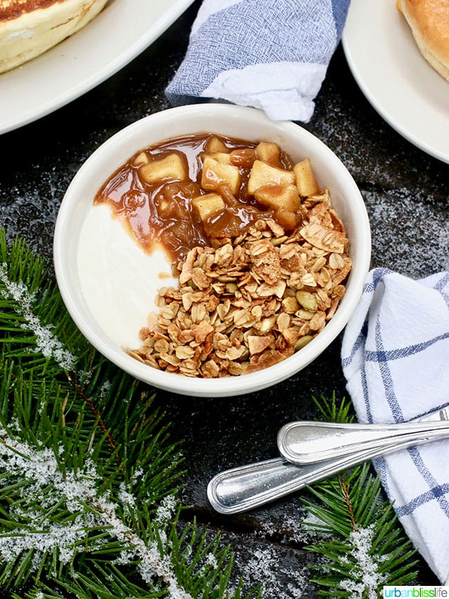 Suttle Lodge Breakfast: Granola