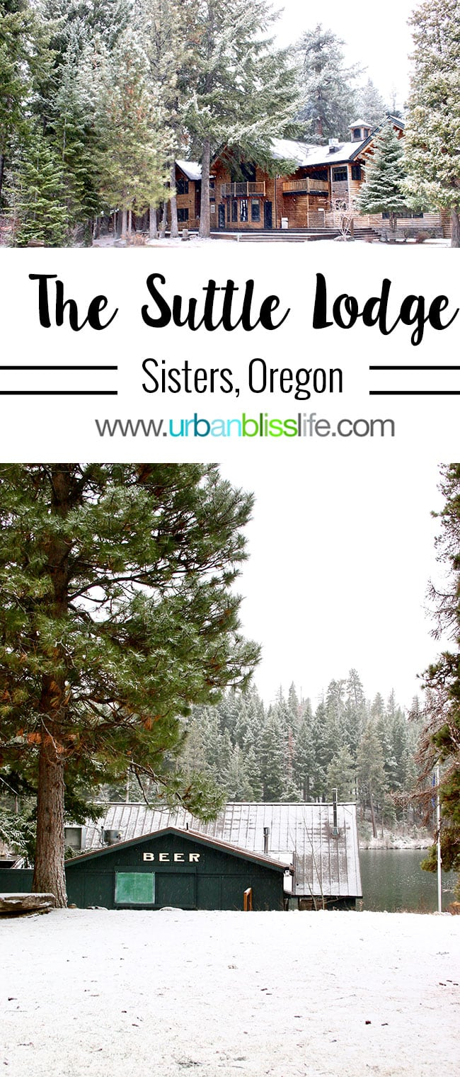 Suttle Lodge in Sisters, Oregon on UrbanBlissLife.com
