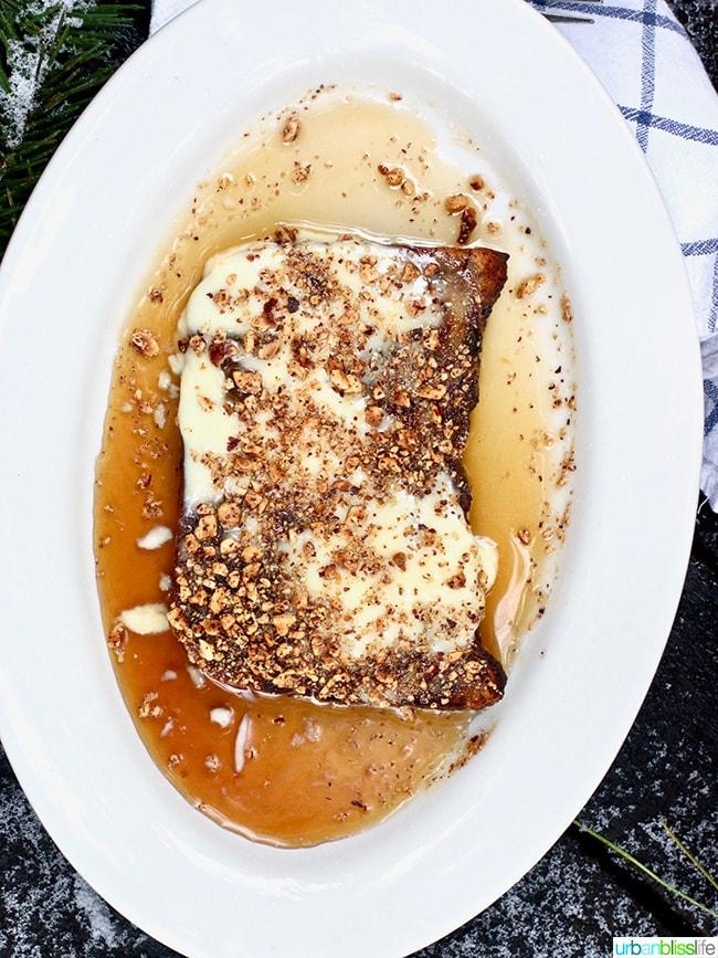 Suttle Lodge Breakfast in Sisters Oregon: toast