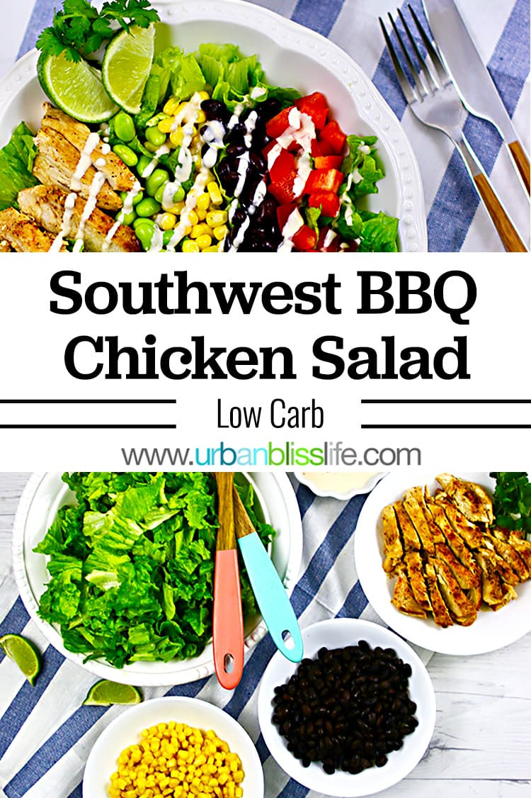 Southwest BBQ Chicken Salad