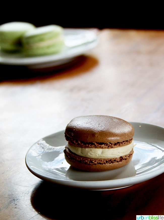 Ashland Oregon Travel Guide - macaron at Mix Bakeshop