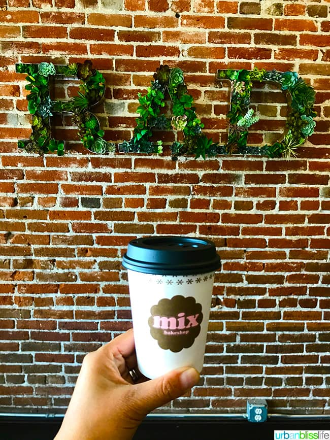 Ashland Oregon Travel Guide - coffee at Mix Bakeshop