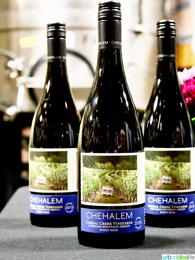 Chehalem Winery wines