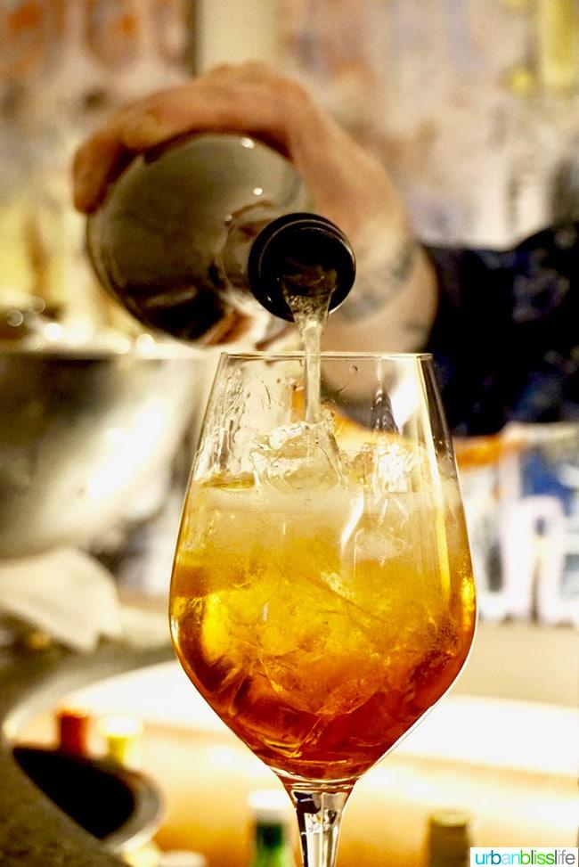 Il Solito restaurant aperol spritz