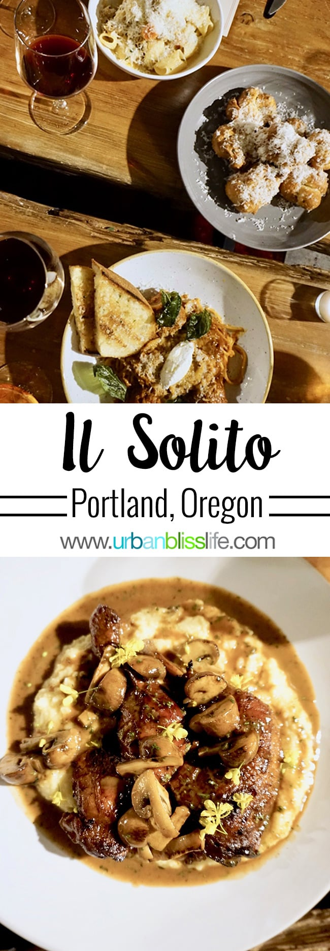 Best Italian restaurants in Portland - Il Solito on UrbanBlissLife.com