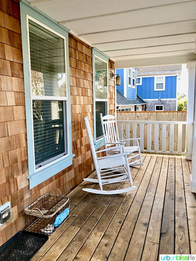 Olivia Beach airbnb rental house at Lincoln City Oregon