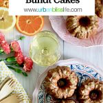 mini bundt cakes with citrus on urbanblisslife.com