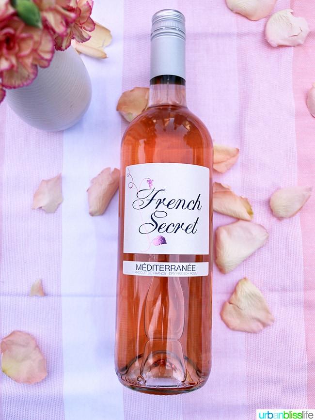 French Secret Rose Wine