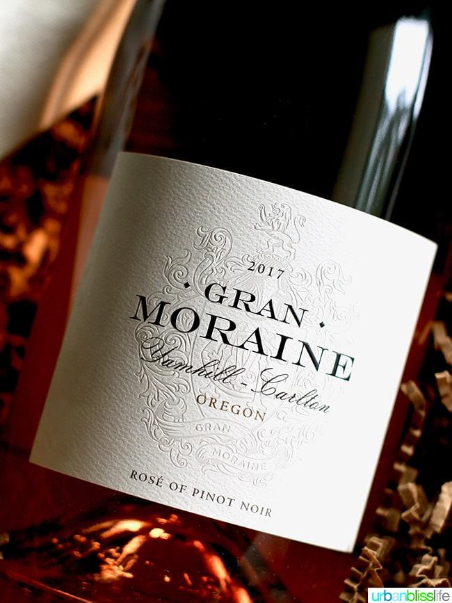 2017 Gran Moraine Rose of Pinot Noir