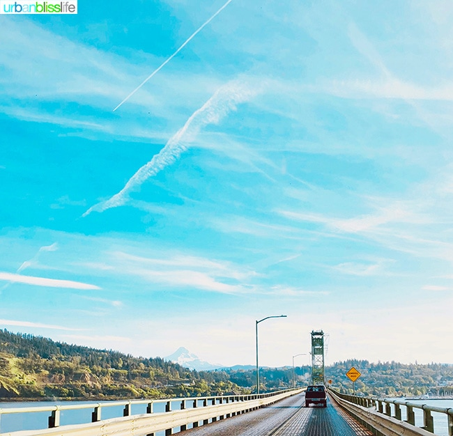 Pacific Northwest Road Trip - Hood River Toll Bridge