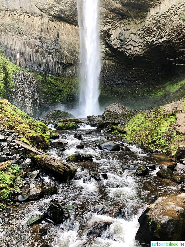 Latourell Falls 2018