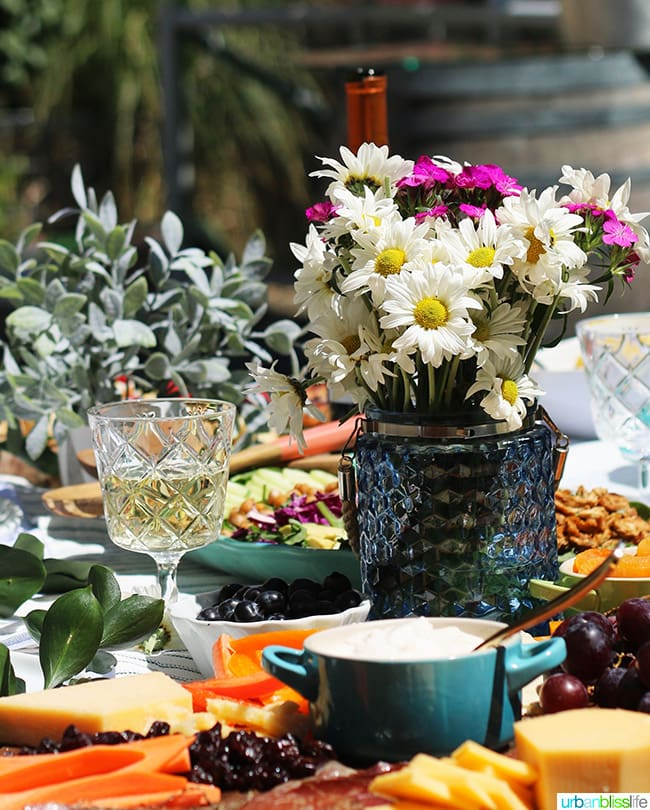 perfect summer party - wine