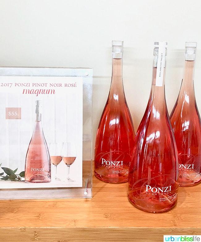 Ponzi 2017 Pinot Noir Rose wine