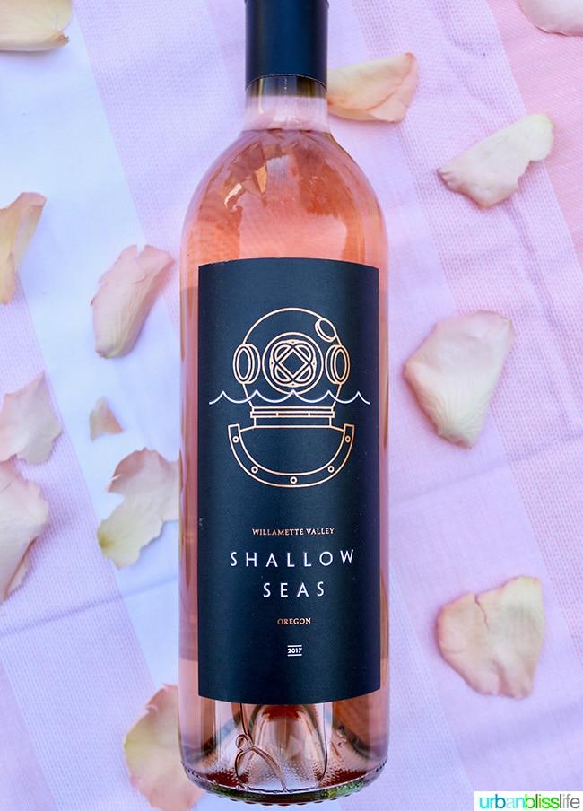 Shallow Seas rose wine