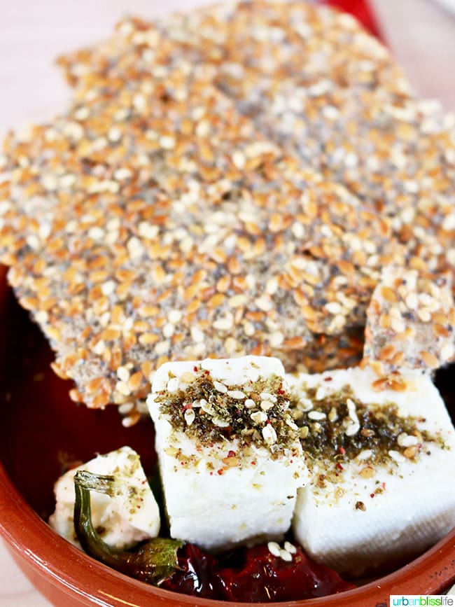 Portland middle eastern restaurants: Tusk - marinated feta