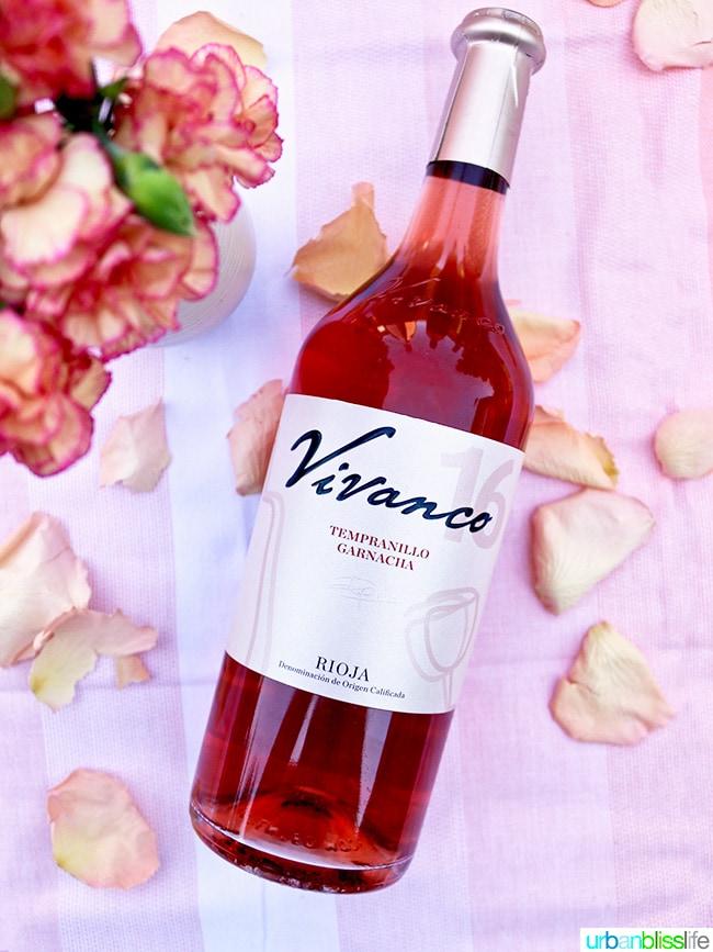 Vivanco rosé wine