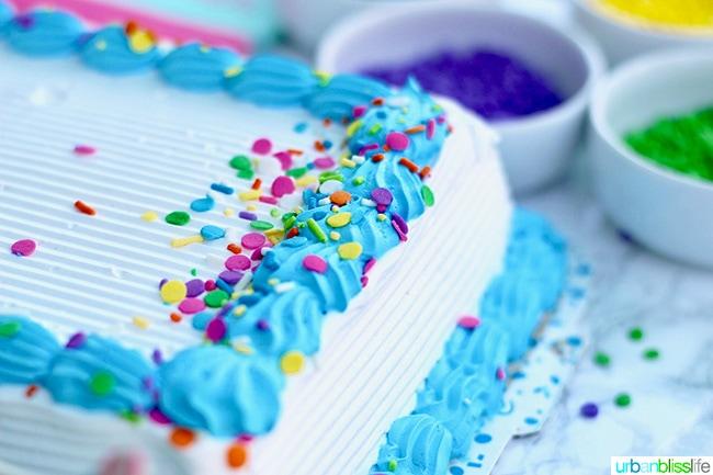 ice cream cake corner