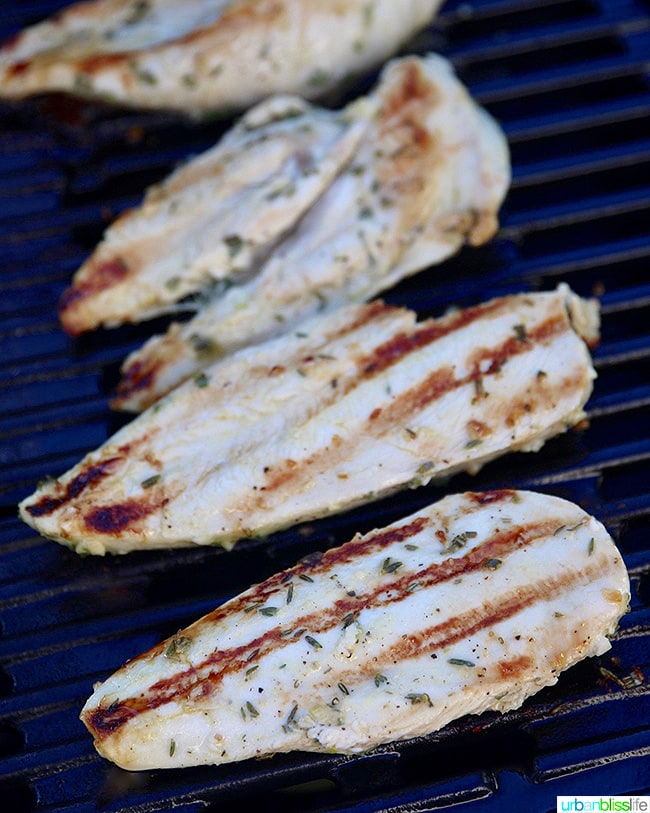 Simple Lemon Herb Grilled Chicken