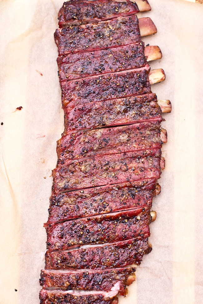 Smoked Salt and Pepper Ribs
