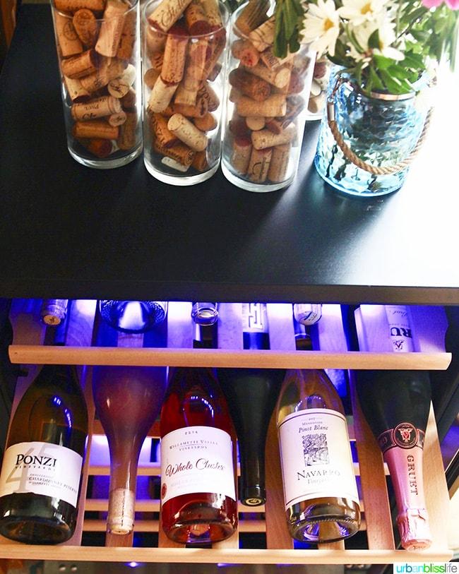 how to store wine at home - wine fridge