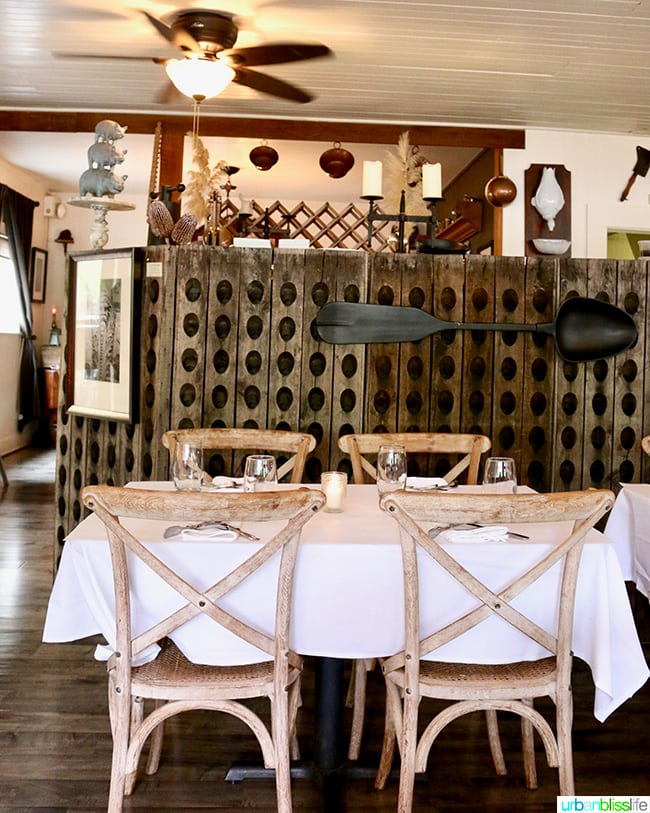 inside the The Bewildered Pig restaurant