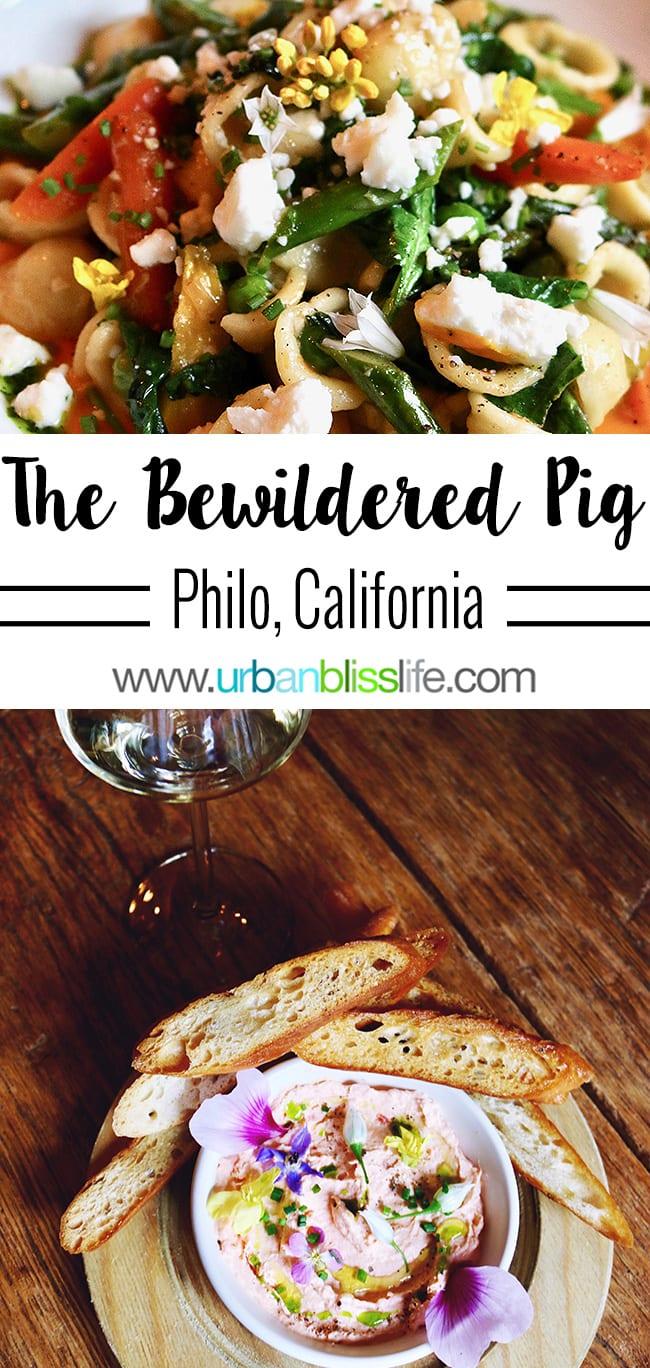The Bewildered Pig restaurant